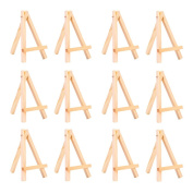 eBoot 12 Pack Mini Wood Display Easel