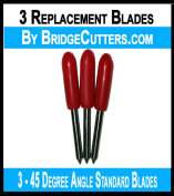 Brother Scan N Cut Replacement Cutting Blades, 3 blades standard angle blade works in Scan and cut, scanncut2