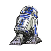 Star Wars R2D2 Patch Embroidered Movie Iron On Sew On Patches