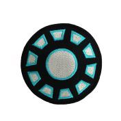 Iron Man Iron Arc Reactor Logo Embroidered Iron Patches