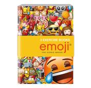 EMOJI EXERCISE BOOKS 3 ASST.