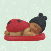 12 Ethnic Baby Shower Baby Girl Ladybug Favour in Box Favours Gift Keepsake Favour