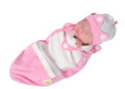 Cosy Cocoon Little Prince - Princess Pink, 0-3 Months