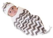 Cosy Cocoon Nursery Blanket, Chevron, Medium