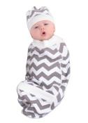 Cosy Cocoon Nursery Blanket, Chevron, Small