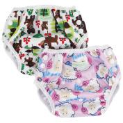 Wegreeco One Size Reusable Baby Swim Nappy,Girl Pattern