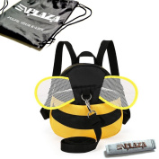 EPLAZA Bee with Wings Baby Walking Safety Harness Reins Toddler Child Strap Backpack Kid for 3-6 years old