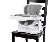 Ingenuity SmartClean ChairMate Chair Top High Chair, Slate/Grey