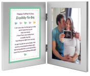 Father To Be Gift From the Baby - Sweet Daddy Poem for Father's Day - Add Photo of Dad-To-Be or Ultrasound of the Baby