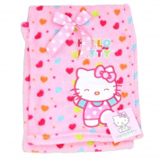 Sanrio Hello Kitty Baby Girls Assorted Design Fleece Blankets