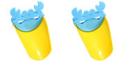 TASOM 2 Pc Faucet Extender Accessory Helps Children Toddler Kids Hand Wash in Bathroom Sink - 2 PC
