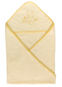 Bamboo Hooded Bath Towel for Infant, Baby and Toddler, Large & Super Soft, Organic, Antibacterial, Hypoallergenic and Odour Resistant