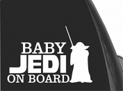 20cm x 15cm Star Wars Baby On-board Decals and Stickers