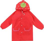 Tekka Fun Waterproof Raincoat Jacket For Kids & Toddlers Between The Ages 2 & 9