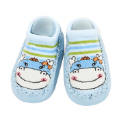Baby Toddler Cartoon Floor Socks Cotton Anti Slip Sock Prewalker Shoes Breathable Crib Slippers