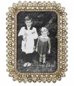 2F0169 Clayre & Eef - Photo frame - Gold ca. 14cm x 20cm - Photo ca. 9.9cm x 15cm