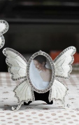 Photo Frame - Happy Anniversary Pearl Wedding Anniversary butterfly Photo Frame Special Occasion Gift Idea