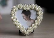 Picture Frames - Beautiful Handmade pearl Photo Frame for Table Top or Wedding Table Decor