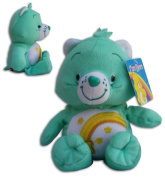 "Wish Bear 16""/42cm Super Soft Teddy Toy Care Bear Plush Blue Rainbow Serie TV"