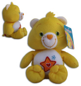"Superstar Bear 16""/42cm Super Soft Toy Plush Care Bears Yellow Orange Star Teddy"