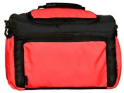 TK-37 Nappy bag KIM from Baby-Joy 3XL oversize Black Neon Melon Nappy Changing Baby Carry-all Bag