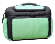 TK-10 Nappy bag KIM from Baby-Joy 3XL oversize Graphite Green Nappy Changing Baby Carry-all Bag