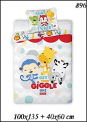 Children's Bed Linen 2-Piece Set 100x135 40x60 Disney 896 Fisher Price