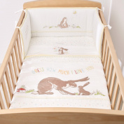 Guess How Much I Love You- 4 Piece cot bedding set- Suncrest
