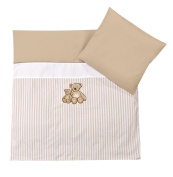 Romantic Bear Bed Linen In Various Sizes