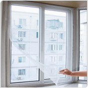 BlueMoo 1 PC Window Screen Mesh Net Moth Door Netting Insect Fly Bug Mosquito-White