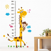 Height Chart wall Sticker Kid's Growth Chart wall decal Measure Wall Sticker
