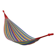 AMPEL 24, colourful striped hammock without spreader bars, 200 x 150 cm