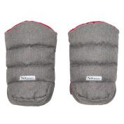 7 A.M. Enfant WarMMuffs Gloves Grey/Red Lining