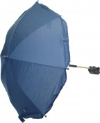 New 70cm Universal Flexible Foldable Baby Umbrella Parasol For Any Pram Pushchair Stroller - Navy