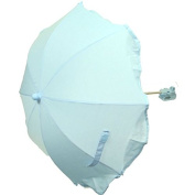 New 70cm Universal Flexible Foldable Baby Umbrella Parasol For Any Pram Pushchair Stroller - Sky Blue