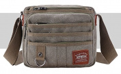 Men's Retro Canvas Bag Messenger Shoulder Bag