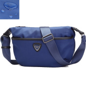 Artone Water Resistant Nylon Crossbody Purse Fit Ipad Mini Deep Blue