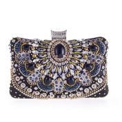 Women's Fashion Evening Bags Clutch & Purse for Cocktail Party with Rhineston