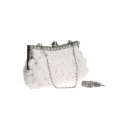 Handbags Vintage Beaded Pearl Rhinestone Evening Clutch Bag Party Wedding Purse Bag