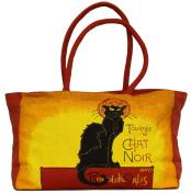 Artis Vivendi Large Handbag Chat Noir 40 x 26 cm