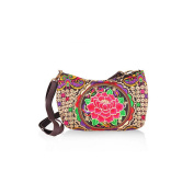 New National Style Miao Embroidery Bag Bulk All-match Fashionable Woman Small Bag Messenger Bag Wallet zamioculcas zamiifolia with butterfly