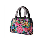 Yunnan National Style Embroidered Bag Woman Bag Night Market Hot Sold Fashionable Embroidery National Bag peacock flower