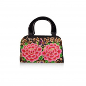 Yunnan National Style Embroidered Bag Woman Bag Night Market Hot Sold Fashionable Embroidery National Bag two penoies