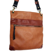 RENAISSANCE DI CHIARA GHIANDI, Calf leather shoulder bag with adjustable strap, Unisex, Made in Italy