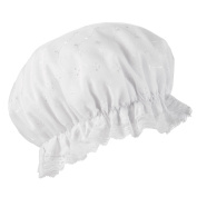 John Lewis Embroidered Shower Cap - Pack of 6
