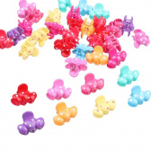 Baby Girl Cartoon Mini Hair Claw Clips Cute Jaw Hair Clips Hairpin Pack of 36pcs #5