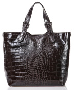 azzesso Women's Top-Handle Bag Brown Chocolate