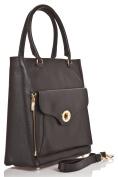 azzesso Women's Top-Handle Bag Black BLACK