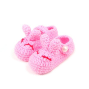 Reebonz Cute Cartoon Rabbit Newborn Baby Girl Boy Knitted Shoes Baby Knitted Booties