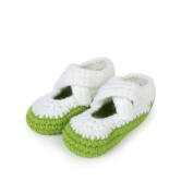 Reebonz Newborn Baby Girls Boys Crochet Handmade Knitted Sock Infant Prewalker Shoes